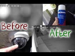 تمیز کردن لنز دوربین